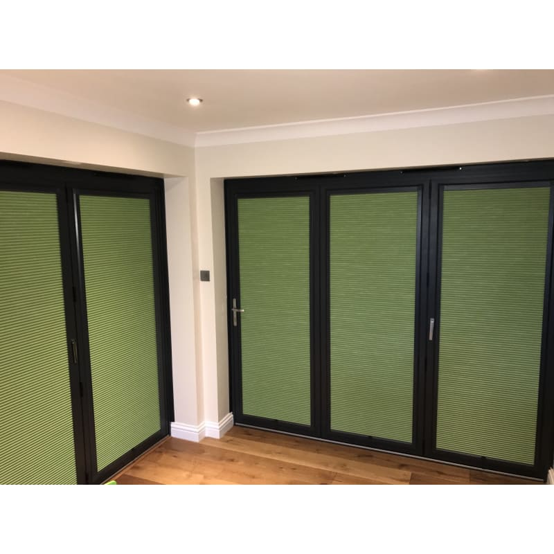 green perfect fit blinds