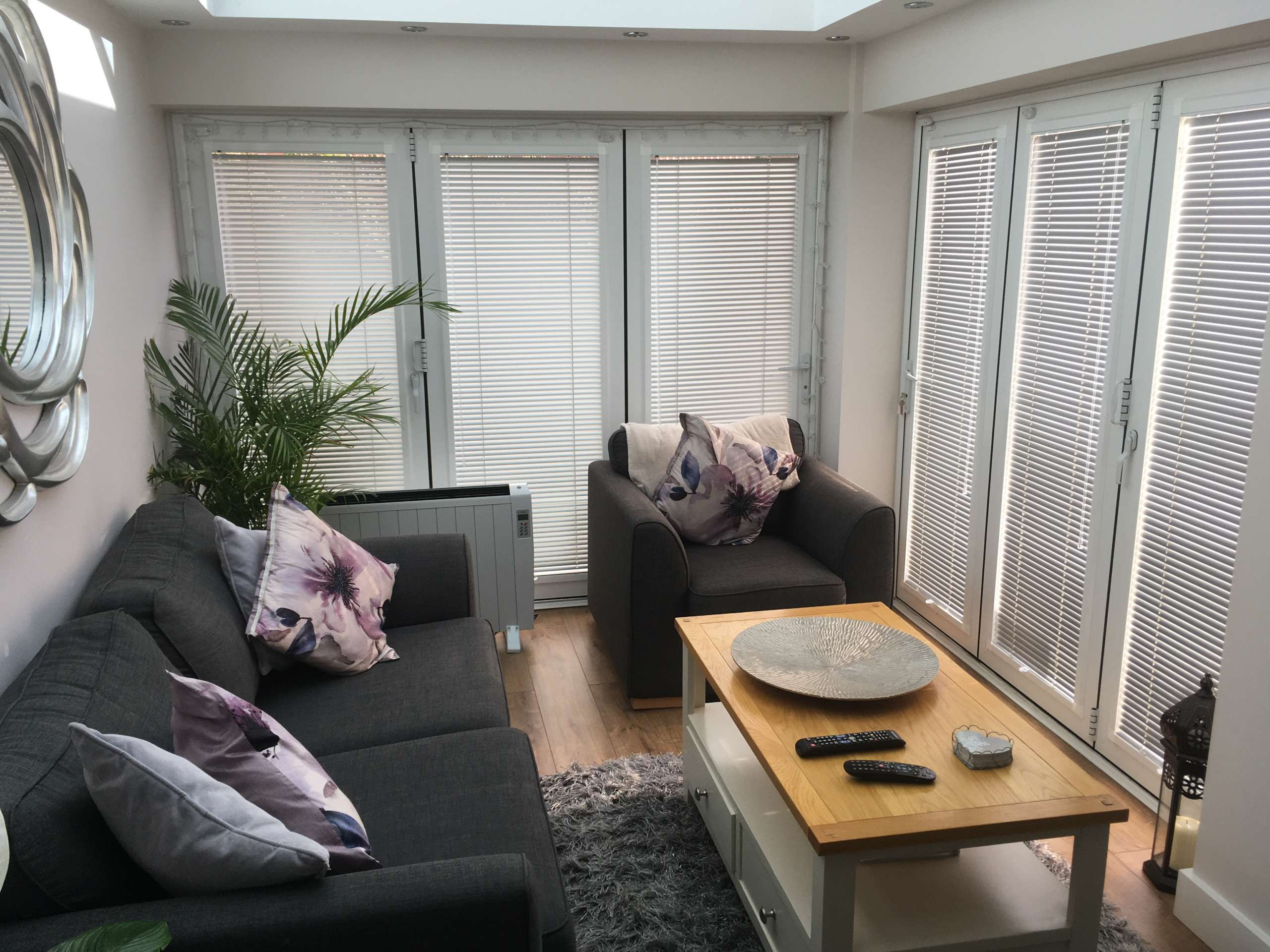 venetian blinds conservatory