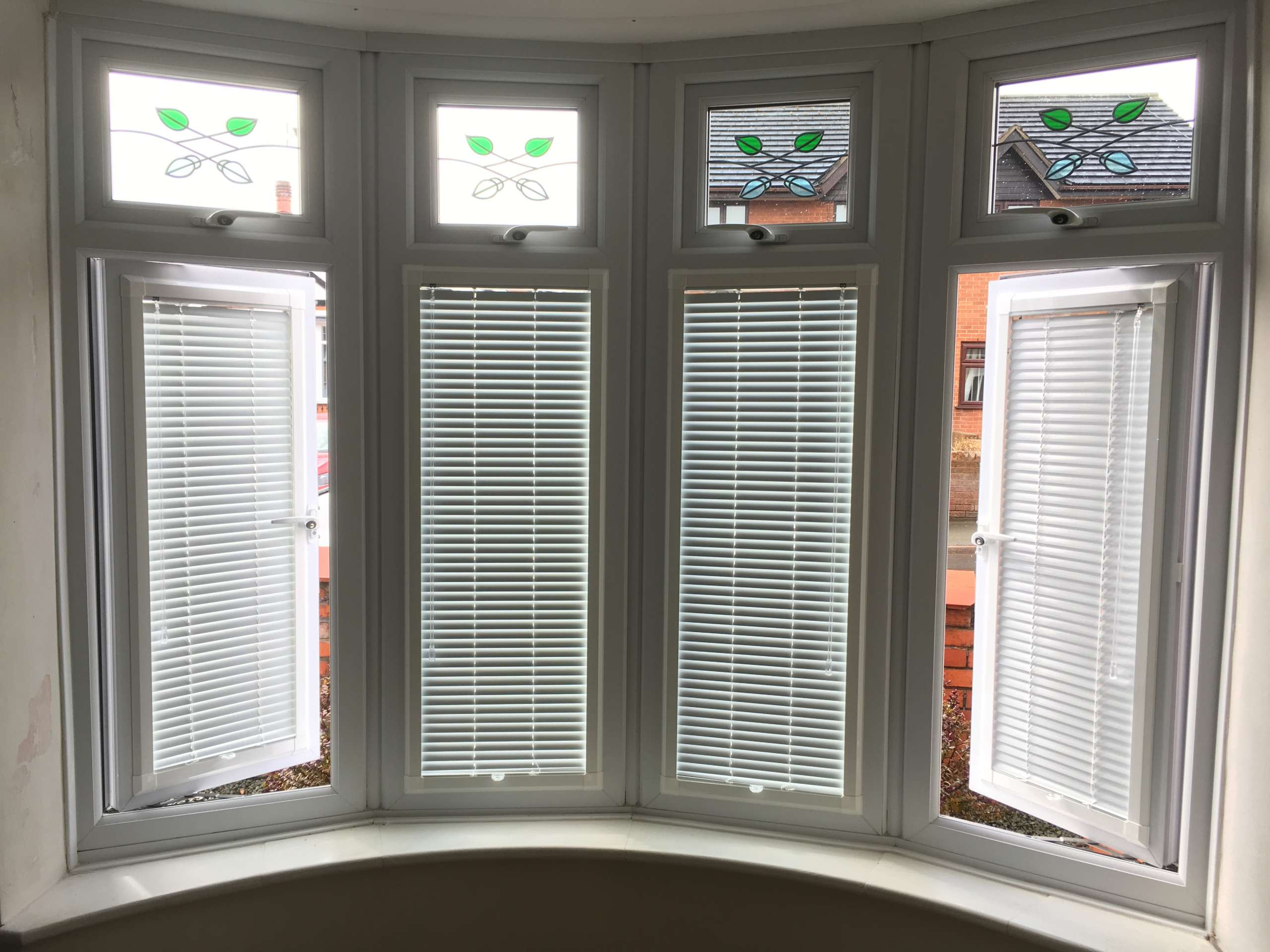 bay window perfect fit blinds