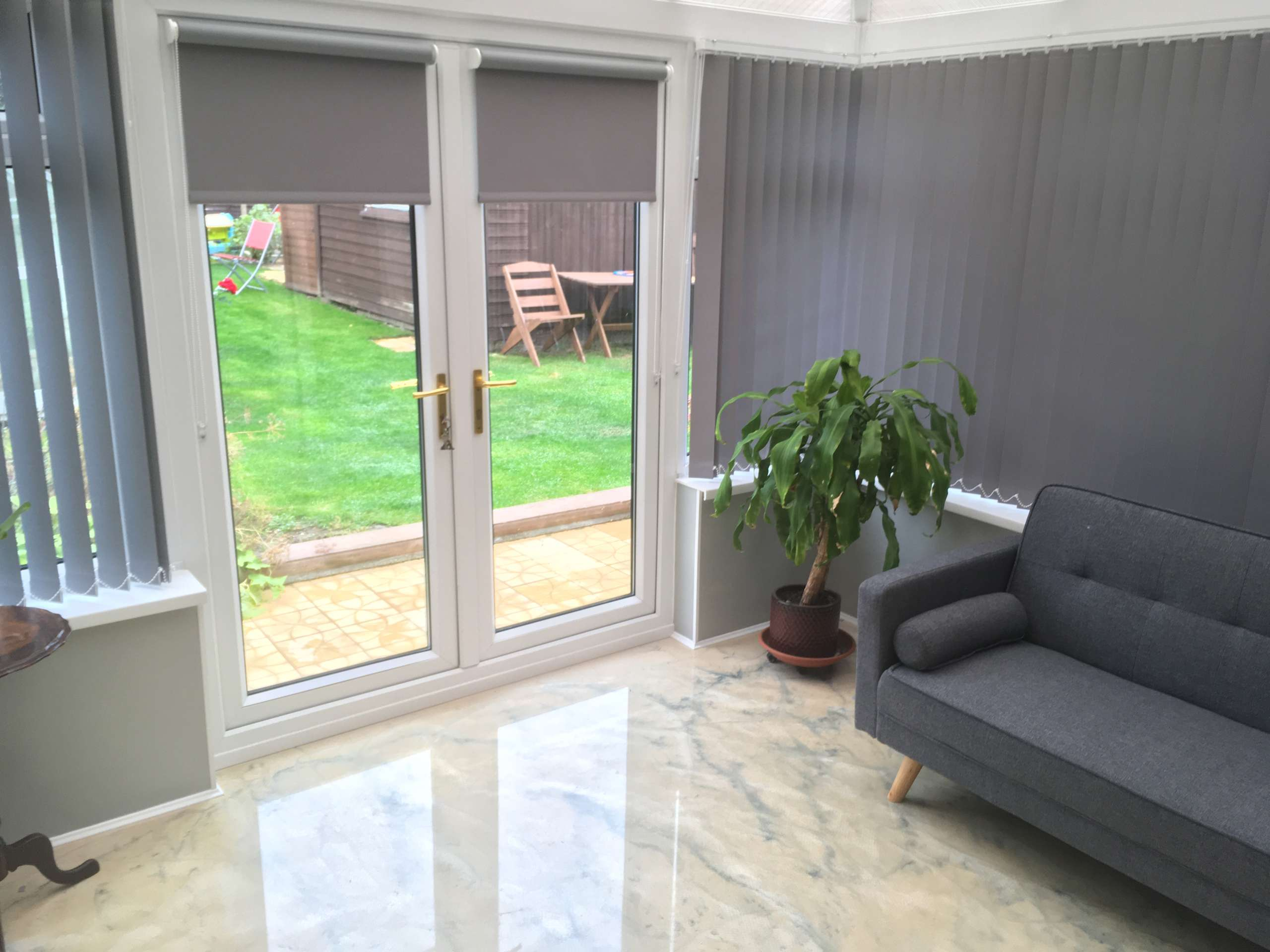 fitted vertical blinds