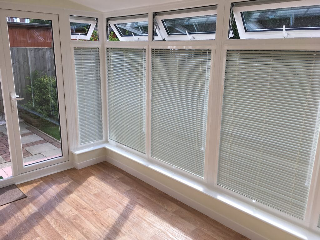 conservatory blinds ideas